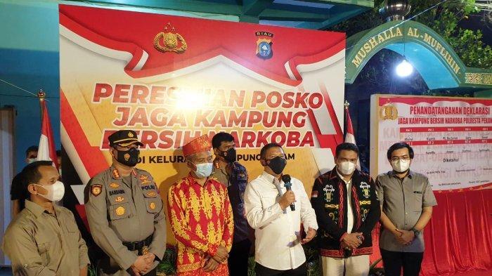 Pimpinan DPRD Pekanbaru Ginda: Ayo Bersatu Berantas Narkoba di Kampung Dalam