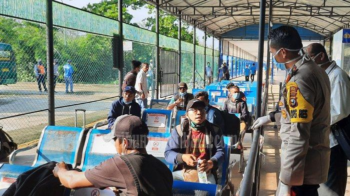 Pintu Masuk Pemulangan WNI dari Malaysia, 61 TKI dari Malaysia Tiba di Dumai, Banyak Tujuan Sumut