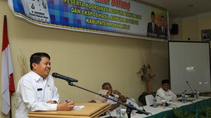 Prioritaskan Infrastruktur Dasar, Rancangan KUA dan PPAS 2020 Segera Diserahkan ke DPRD Rohul