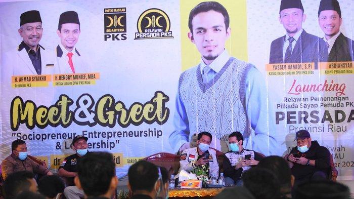 PKS Libatkan Anak Muda dalam Pemenangan Jagoan pada Pilkada Serentak 2020 di Riau, Ini Langkahnya