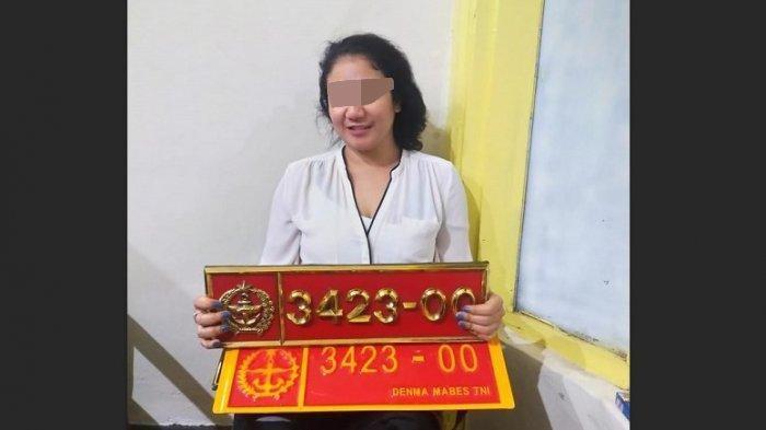 Ini Nasib Pooja, Wanita Bandung yang Pamer Plat Mobil Dinas TNI, Penjara 6 Tahun Menanti