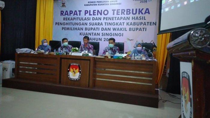 Gugatan Pilkada Kuansing 2020 Diregistrasi MK, KPU Bersiap