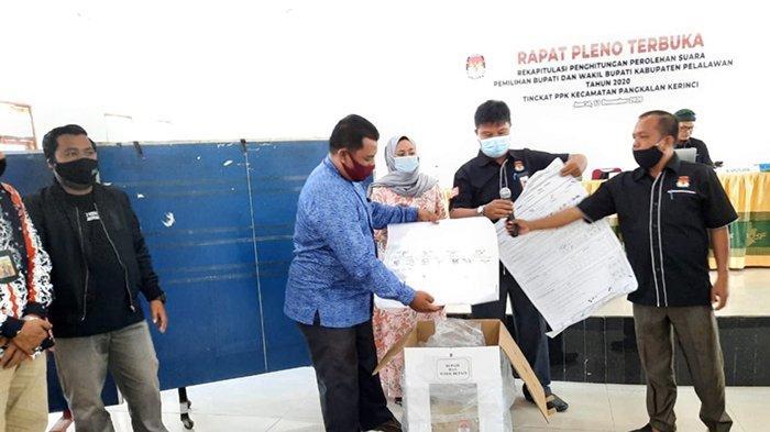 UPDATE Pilkada Pelalawan, Pleno Perolehan Suara di 12 Kecamatan Tuntas, Ini Jadwal Pleno Kabupaten