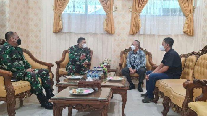 PLN UIP Sumbagteng Silaturahmi dengan petinggi Korem Wirabraja Sumatera Barat