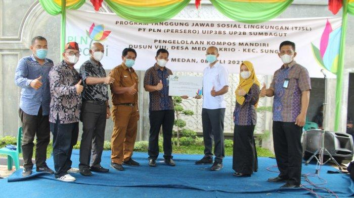 PLN Peduli Mandirikan Masyarakat, PLN UIP3BS UP2B Sumbagut Serahkan Bantuan