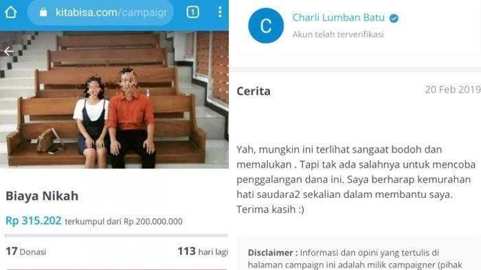 VIRAL PNS Minta Donasi hingga 200 Juta untuk Biaya Menikah, Ini Pengakuan Temannya