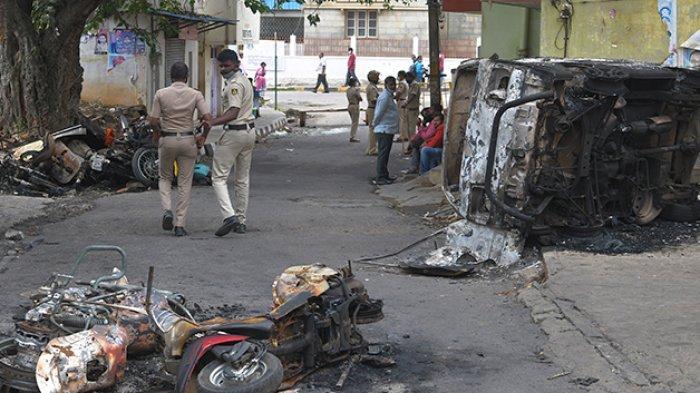 Penghinaan Nabi Muhammad di Facebook, Umat Muslim di India Bereaksi, Kerusuhan Pecah di Bengaluru