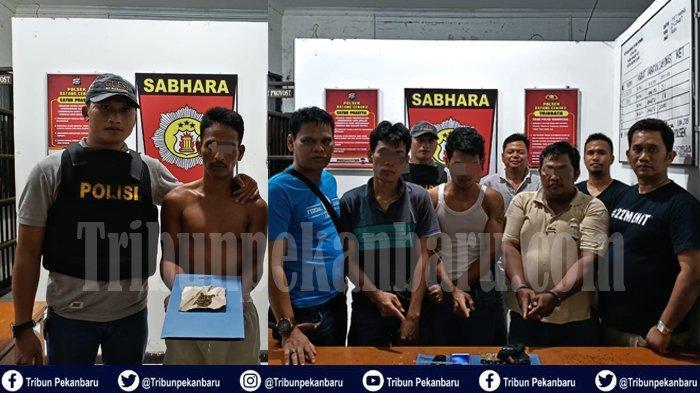 Polisi GEREBEK Bandar, Pengedar, Kurir, Pemakai Narkoba di Riau, Tangkap 10 Tersangka dalam Semalam