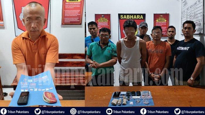 Polisi Gerebek 4 TKP dalam Semalam. Hasilnya 10 Orang Diamankan Terkait Narkoba
