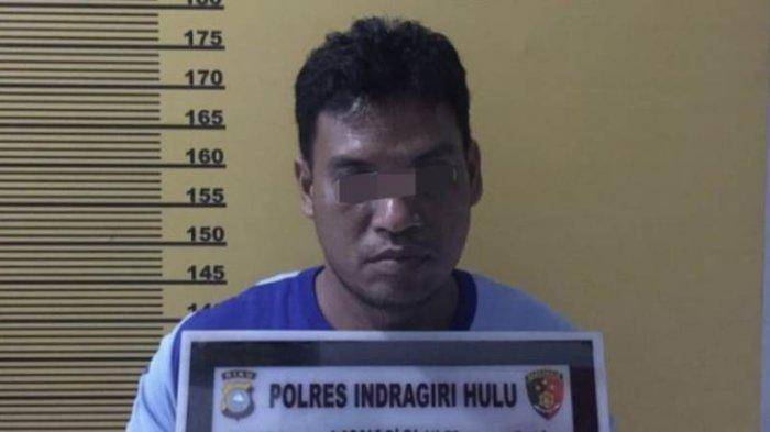 Polisi Tangkap Bandar Togel di Pasir Penyu Inhu, PelakuSempat Tak Sadar Ada Aparat