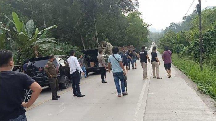 6 Pemalak yang Memeras Sopir di Jalan Lintas Sumatera yang Viral Akhirnya Diamankan