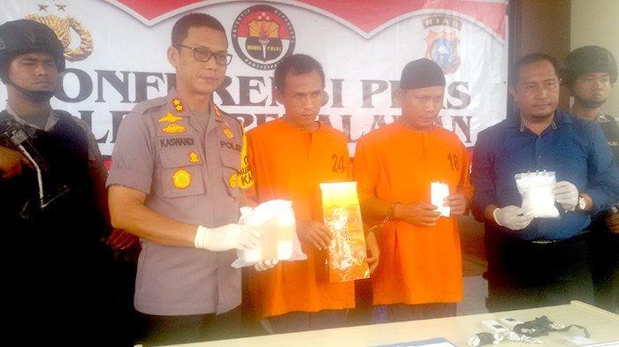 Cetak Sejarah Pangkapan Sabu Polres Selamatkan 5 Ribu Warga Pelalawan Riau
