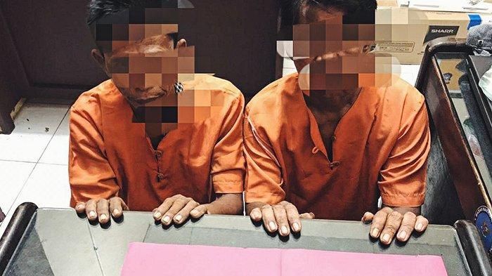 Sering Transaksi Narkoba dan Resahkan Warga, Dua Pemuda di Kempas Inhil Dibekuk Polisi