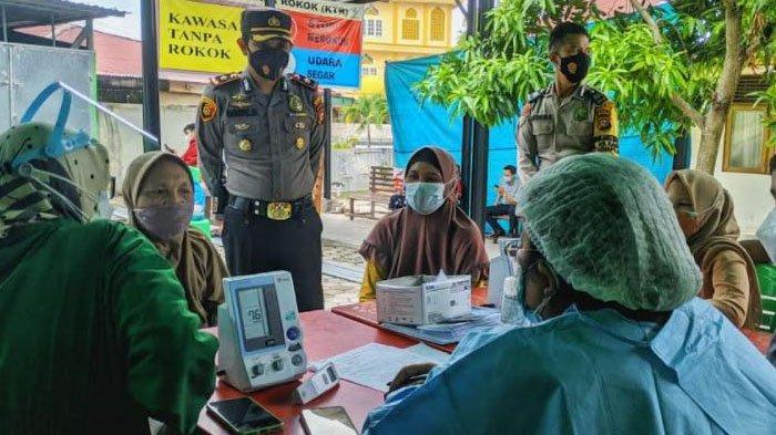 Polsek Senapelan Gelar Vaksinasi Massal Bagi Masyarakat, 400 Dosis Vaksin Coronavac Disiapkan