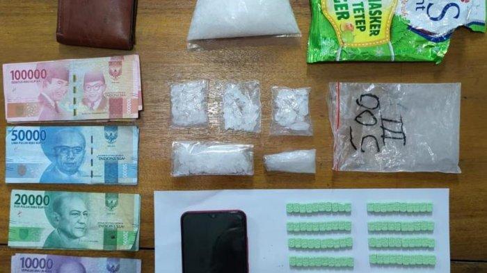 Polsek Mandau Amankan 5 Diduga Pengedar Narkoba, 2 di Antaranya Perempuan