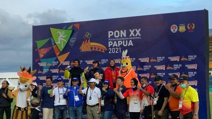 PON Papua, Atletik Kembali Tambah Perak untuk Riau dari Indah Pratiwi di Nomor Lontar Martil