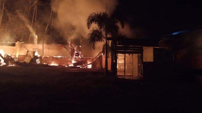 Derita Kerugian Ratusan Juta Akibat Kebakaran,Pimpinan Ponpes QHI Rohul Tetap Bersyukur, Kenapa?