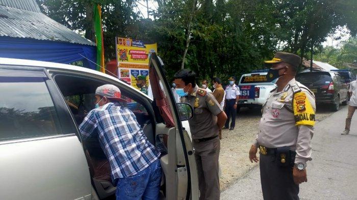 Pos Perbatasan Kuansing-Sumbar Aktif, Warga yang Melintas Wajib Prokes