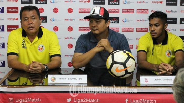 Pelatih Semen Padang FC: Posisi Belum Aman, Kami All Out Lawan Aceh United