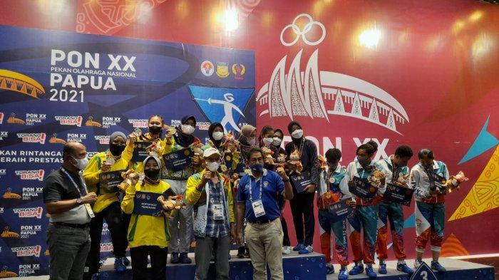 Riau Masih Kokoh di Posisi 7 Besar, Perolehan Medali Sementara PON 2021 Papua, Jumat Malam