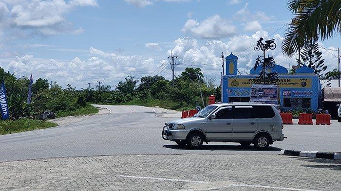 Masih Ngotot Mudik, Terpaksa Putar Balik, Segini Kendaraan Dihalau di 3 Posko Penyekatan Pelalawan