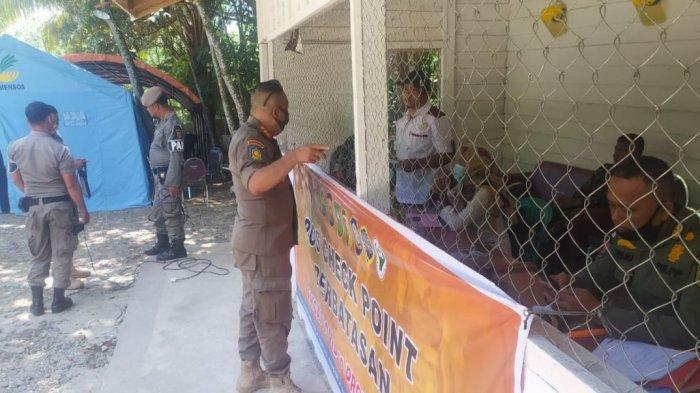 Rapid Tes Ditiadakan, Arus Lalu Lintas di Jalur Perbatasan Kuansing, Riau - Sumbar Meningkat