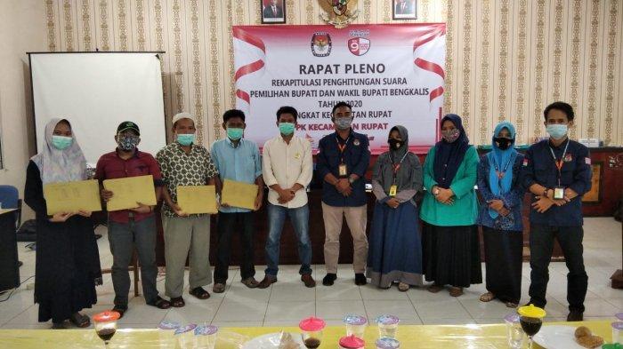 UPDATE Pilkada Bengkalis, Tujuh PPK Selesaikan Pleno Rekapitulasi Tingkat Kecamatan