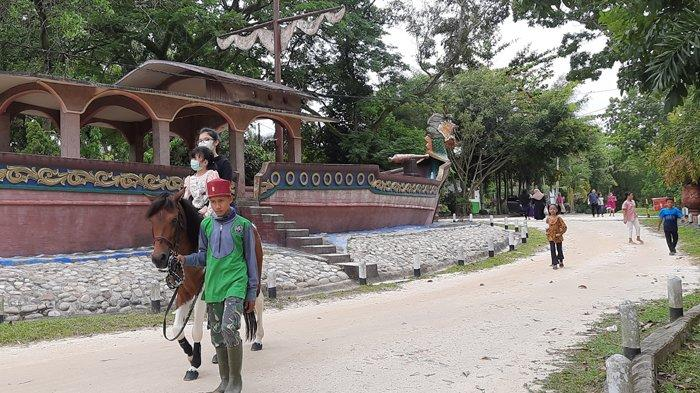 PPKM Level 2 Pekanbaru, Pengunjung Taman Rekreasi Alam Mayang Naik 60 Persen, Ada Wisata Berkuda
