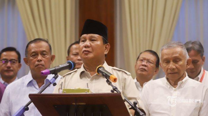 3 Tokoh Partai Koalisi BPN Ini Tak Sejalan dengan Langkah Prabowo Tolak Hitungan Pilpres KPU