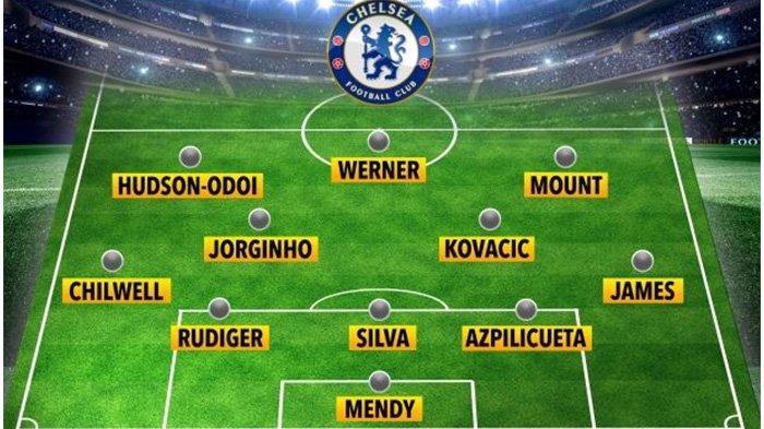 Prediksi formasi Chelsea malam ini melawan Burnley.