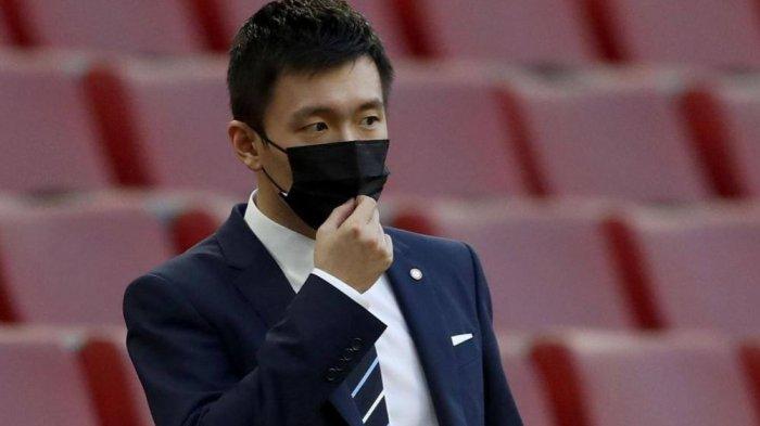 Presiden Inter Milan, Steven Zhang dalam sebuah kesempatan.