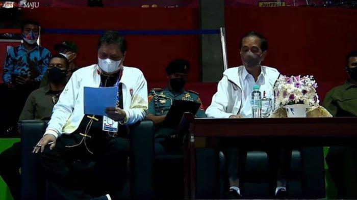 Presiden Jokowi Tinjau Arena Wushu PON XX Papua