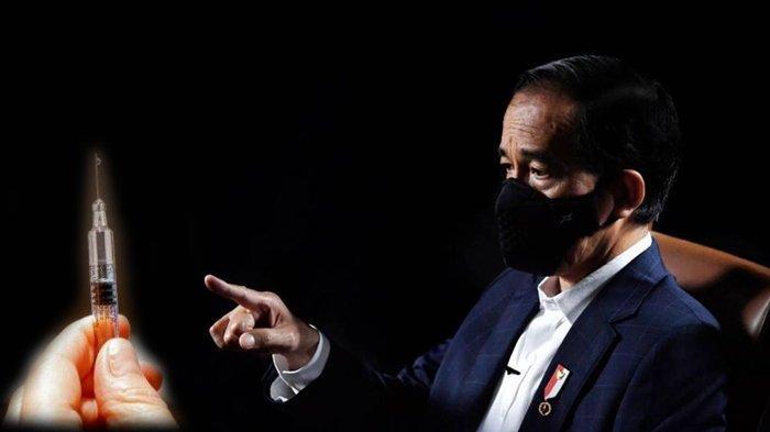 Presiden RI Jokowi Disuntik Vaksin Covid-19 Sinovac Produk China Besok, Disiarkan Live Streaming