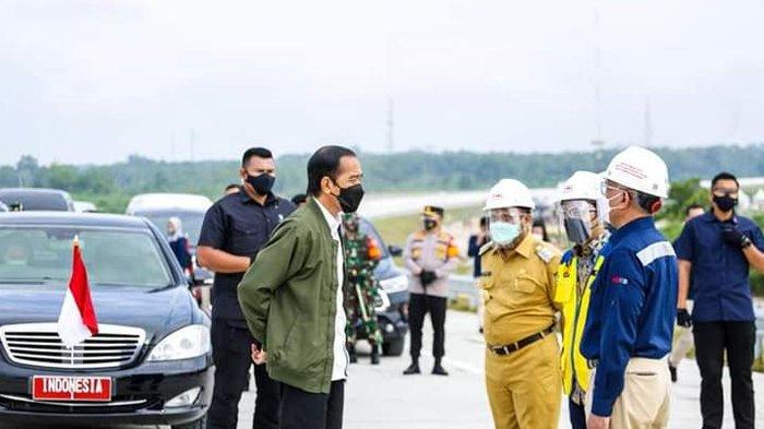 Kunjungan Presiden RI Jokowi ke Riau, Tinjau Tol Pekanbaru-Padang atau Tol Riau-Sumbar, Ini Katanya