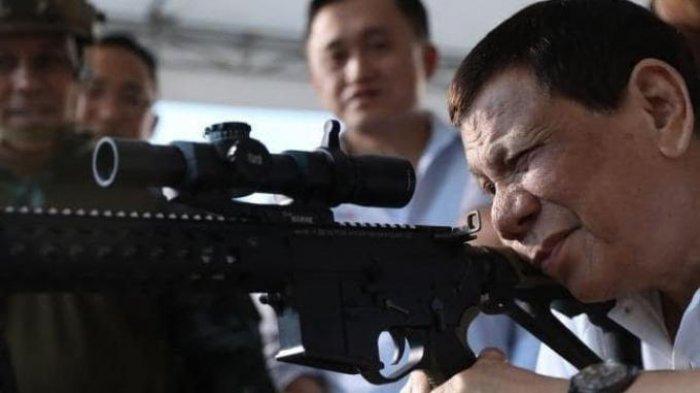 Gertakan PresidenRodrigoDuterte Soal Laut China Selatan Bakal Buat Xi Jinping Lemas Dengkul
