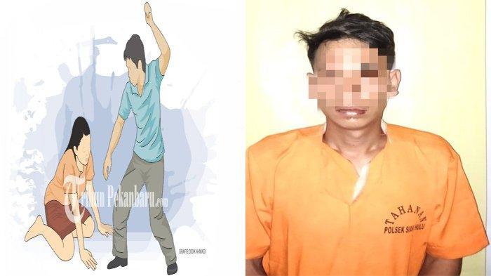 Piring Melayang,Istri Dipukuli dan Ditendang,Polisi Turun Tangan,Apa yang Memicu Suami Tebar Bogem?