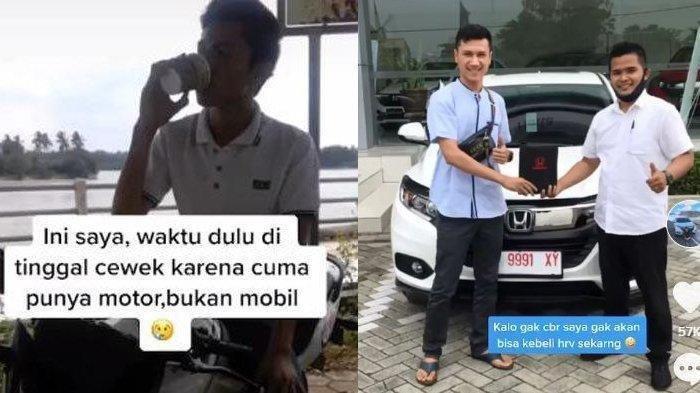 Pria Ini Merasa Beruntung Dibuang Pujaan Hatinya Karena Cuma Pakai Motor, Kini Buat si Cewek Nyesal