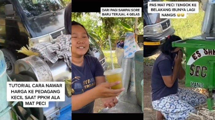Viral TikTok Pria Tawar Minuman Es Tebu dengan Harga Tinggi, Pedang Menangis Saat Diberi Uang