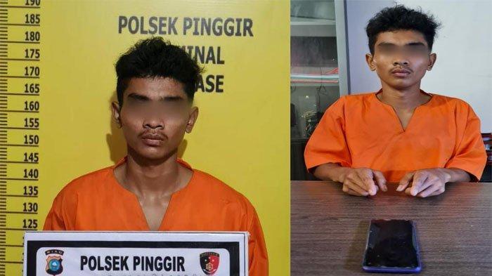 Lihat Hp Tergeletak di Meja Kasir, Pria di Bengkalis Tergoda Mengambil,10 Hari Jadi Buronan Polisi