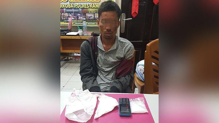 Pria di Kampar Ditangkap Saat Akan Transaksi Sabu,di Tembilahan Pengunjung Lapas Juga Diamankan