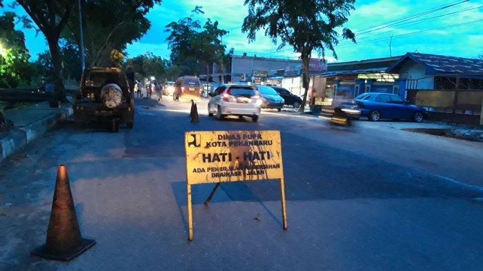Dinas PUPR Maksimalkan Overlay Jalan Jelang HUT Pekanbaru