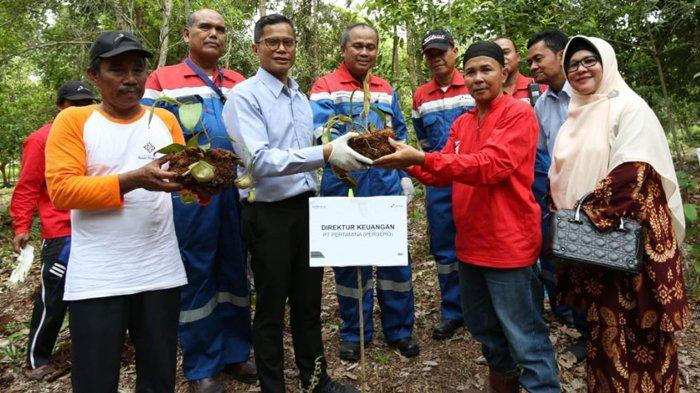 Program CSR Pertamina RU II Sungai Pakning Ubah Gambut dari Musibah Menjadi Berkah