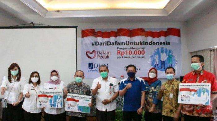 Menginap Hanya Rp 10.000 Semalam untuk Tenaga Kesehatan, #DariDafamUntukIndonesia