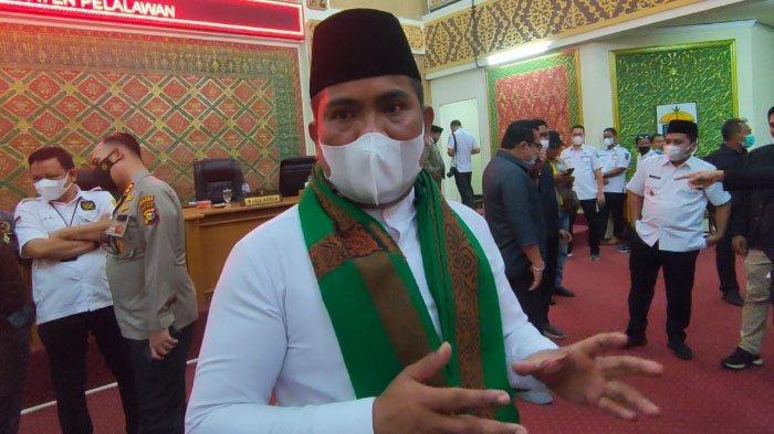 11 Pejabat Eselon ll Pemkab Pelalawan Kosong, Oktober Evaluasi, Bupati Sebut Ini Alasannya