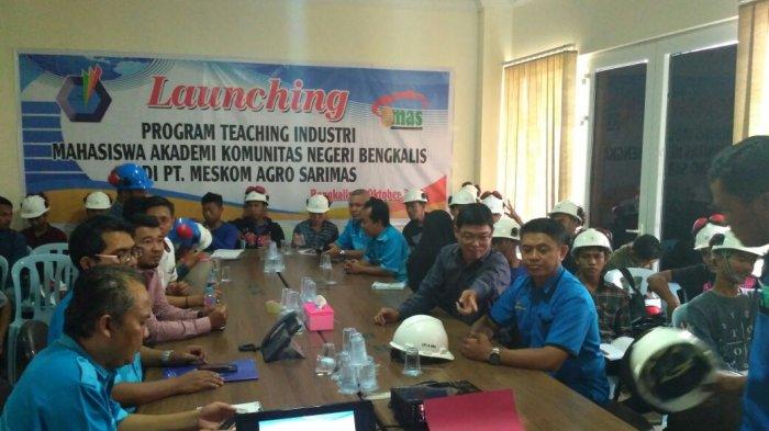 AKN Bengkalis Gelar Program Teaching Industri dengan PT MAS