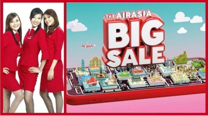 Buruan! Ada Promo AirAsia Big Sale, Kursi Gratis Penerbangan ke Semua Destinasi, Ikuti Langkah Ini