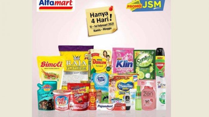 Promo Alfamart Hari Ini, Harga Hemat Minyak Goreng, Popok Anak, Susu hingga Deterjen