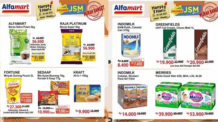CEK Promo Belanja Alfamart Hari Minggu: Diskon Popok Anak, Diskon Minyak Goreng