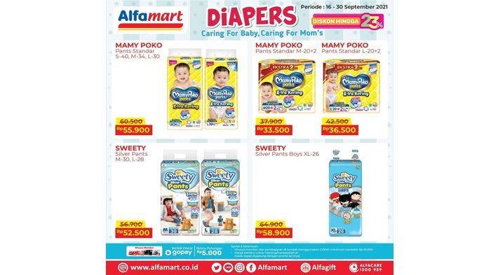 Promo Popok Bayi di Alfamart Hari Ini 23 September 2021, Diskon hingga 23 Persen, Bunda Auto Happy