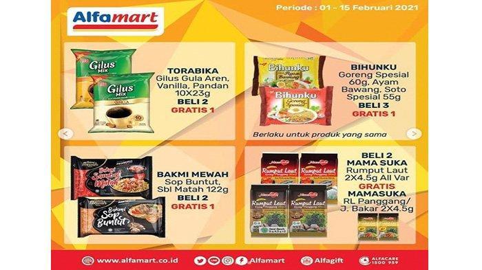 Promo Alfamart beli 2 produk gratis 1.
